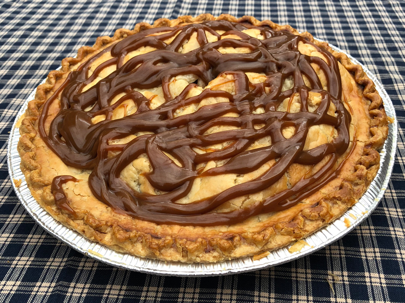 Johansen Farms Caramel Apple Walnut Pie